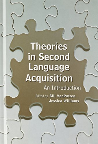 9780805857375: Theories in Second Language Acquisition: An Introduction (Second Language Acquisition Research Series)