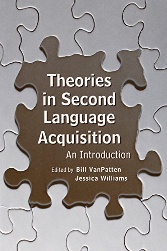 9780805857382: Theories in Second Language Acquisition: An Introduction (Second Language Acquisition Research Series)