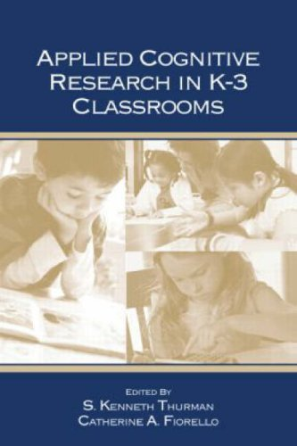 9780805858228: Applied Cognitive Research in K-3 Classrooms