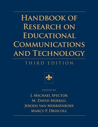 9780805858495: Handbook of Research on Educational Communications and Technology (AECT Series)