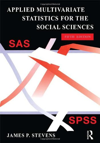 9780805859010: Applied Multivariate Statistics for the Social Sciences, Fifth Edition