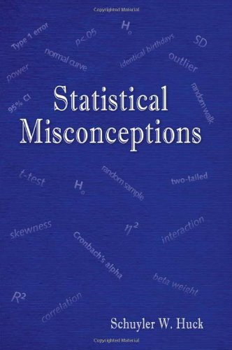 9780805859027: Statistical Misconceptions