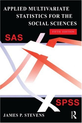 9780805859034: Applied Multivariate Statistics for the Social Sciences, Fifth Edition