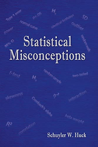 9780805859041: Statistical Misconceptions