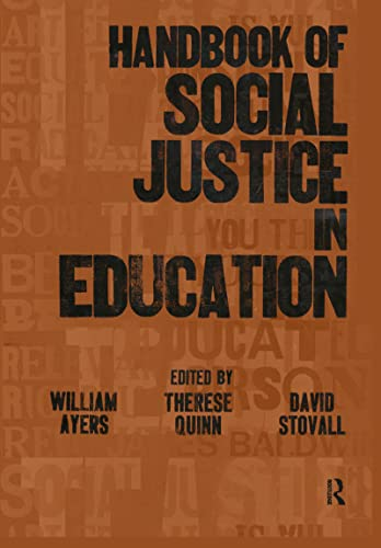 9780805859270: Handbook of Social Justice in Education