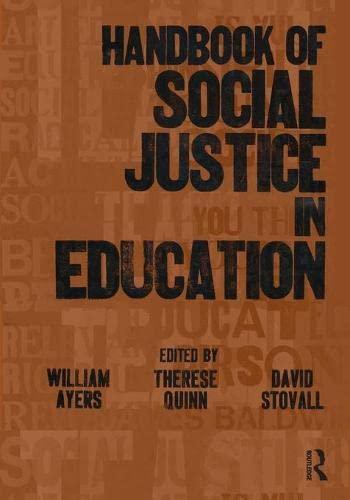 9780805859287: Handbook of Social Justice in Education