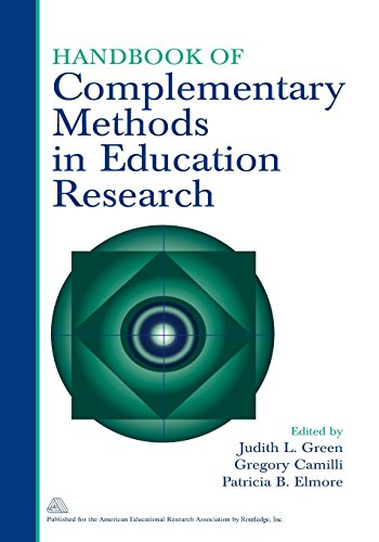 9780805859331: Handbook of Complementary Methods in Education Research