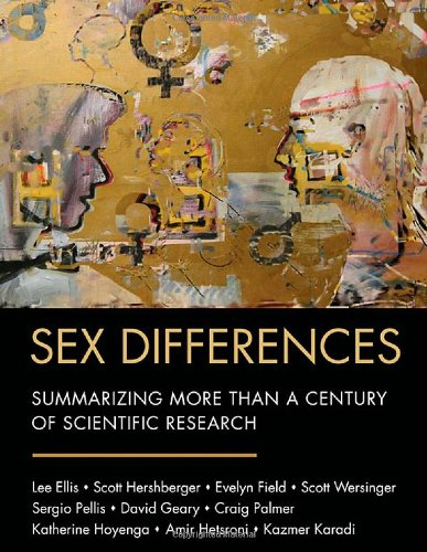 9780805859591: Sex Differences: Summarizing More than a Century of Scientific Research