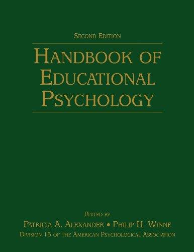 9780805859713: Handbook of Educational Psychology (Educational Psychology Handbook)