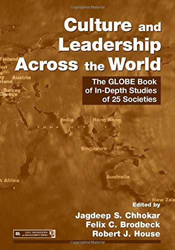 9780805859973: Culture and Leadership Across the World: The GLOBE Book of In-Depth Studies of 25 Societies (Organization and Management Series)