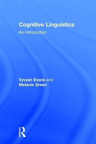 9780805860146: Cognitive Linguistics: An Introduction