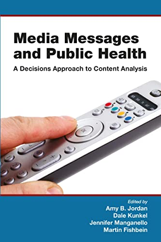 9780805860252: Media Messages and Public Health: A Decisions Approach to Content Analysis (Communication)