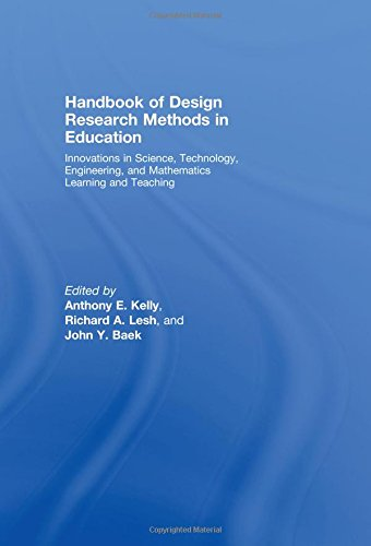 9780805860580: Handbook of Design Research Methods in Education: Innovations in Science, Technology, Engineering, and Mathematics Learning and Teaching