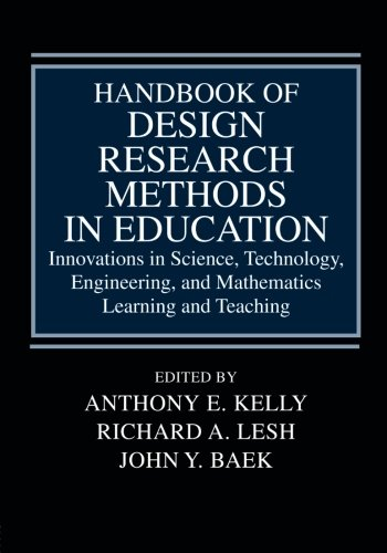 9780805860597: Handbook of Design Research Methods in Education: Innovations in Science, Technology, Engineering, and Mathematics Learning and Teaching