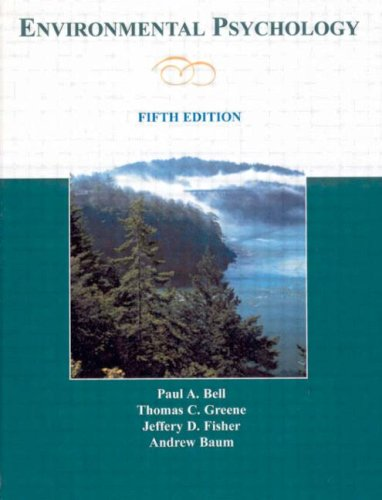 9780805860887: Environmental Psychology