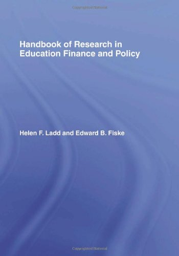 9780805861440: Handbook of Research in Education Finance and Policy