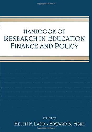 9780805861457: Handbook of Research in Education Finance and Policy