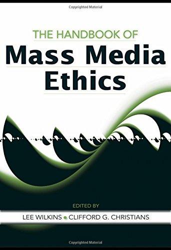 9780805861914: The Handbook of Mass Media Ethics