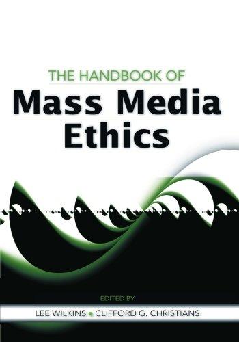 9780805861921: The Handbook of Mass Media Ethics