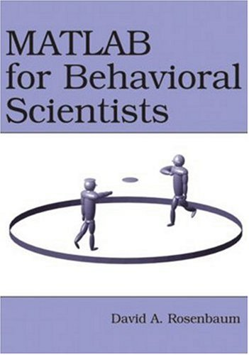 9780805862270: MATLAB for Behavioral Scientists