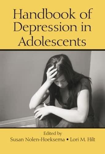 9780805862355: Handbook of Depression in Adolescents