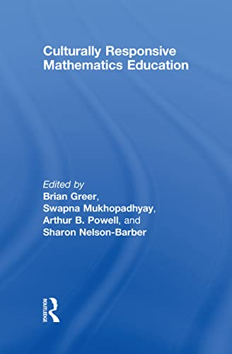 9780805862638: Culturally Responsive Mathematics Education (Studies in Mathematical Thinking and Learning Series)