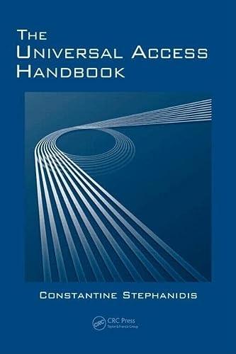 9780805862805: The Universal Access Handbook (Human Factors and Ergonomics)
