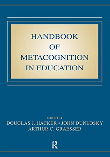 9780805863543: Handbook of Metacognition in Education (Educational Psychology)