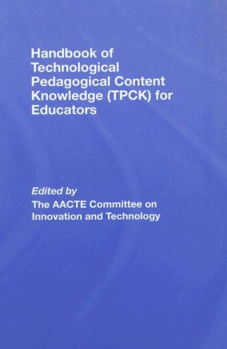 9780805863550: Handbook of Technological Pedagogical Content Knowledge (TPCK) for Educators