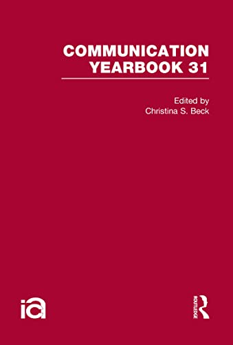 9780805863581: Communication Yearbook 31 (Volume 26)