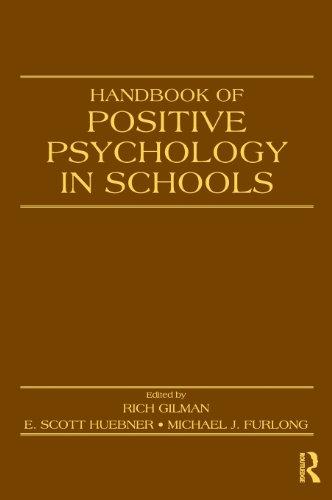 9780805863611: Handbook of Positive Psychology in Schools (Educational Psychology Handbook)