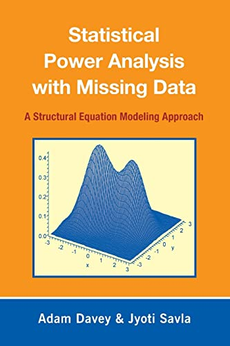 9780805863703: Statistical Power Analysis with Missing Data: A Structural Equation Modeling Approach
