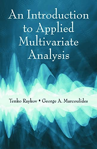 9780805863758: An Introduction to Applied Multivariate Analysis