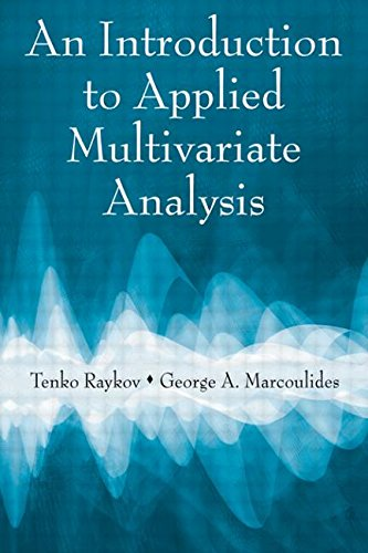 9780805863765: An Introduction to Applied Multivariate Analysis