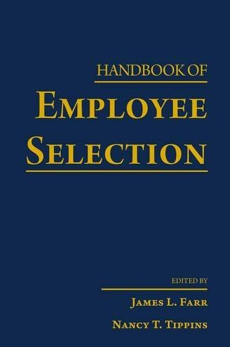 9780805864373: Handbook of Employee Selection