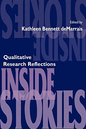 9780805880380: Inside Stories: Qualitative Research Reflections