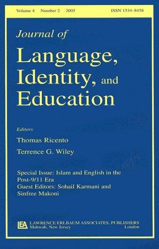 Islam and English in the Post-9/11 Era: Sinfree Makoni, Sohail
