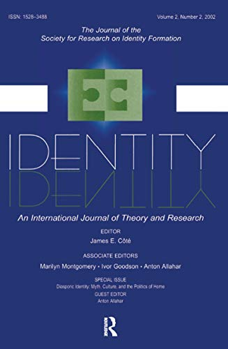 9780805896749: Diasporic Identity: Myth, Culture, and the Politics of Home: A Special Issue of identity