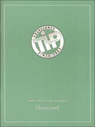 9780805896954: Homework: A Special Issue of educational Psychologist (Educational Psychologist, Vol 36, No 3 Summer 2001)