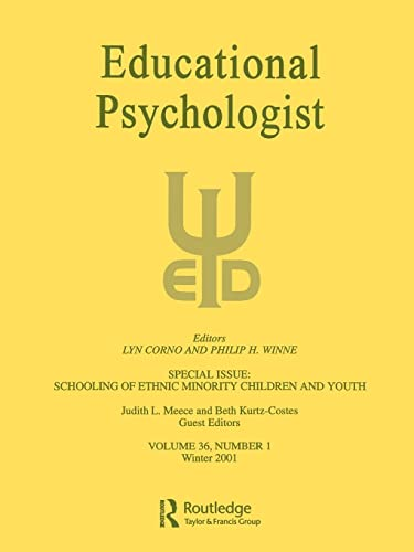 The Schooling of Ethnic Minority Children and: Editor-Judith L. Meece;