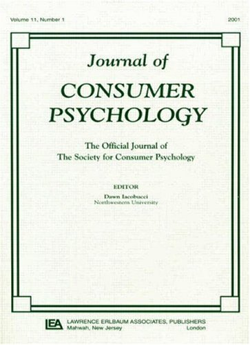 9780805897357: Methodological and Statistical Concerns of the Experimental Behavioral Researcher: A Special Double Issue of the journal of Consumer Psychology