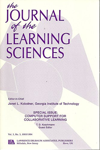 Computer Support for Collaborative Learning: Foundations for A Cscl Community (cscl 2002 ...