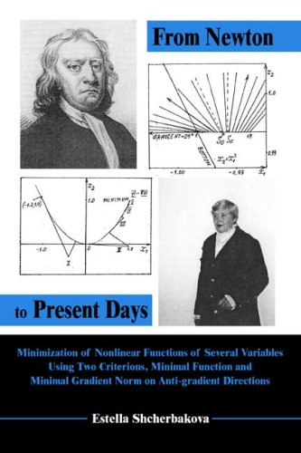 9780805974478: From Newton to Present Days: Minimization of Nonlinear Functions of Several Variables Using Two Criterions, Minimal Function and Minimal Gradient Norm on Anti-gradient Directions