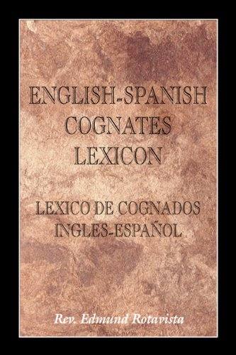 9780805984125: English-Spanish Cognates Lexicon: Lexico De Cognados Ingles-Espanol