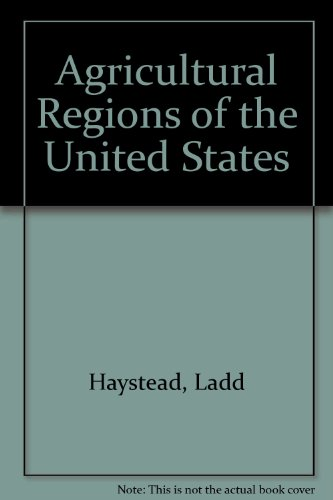 9780806103235: The Agricultural Regions of the United States
