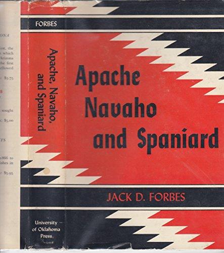 9780806104737: Apache, Navaho and Spaniard
