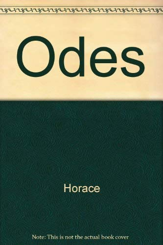 9780806105031: The Odes of Horace