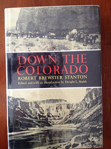 9780806106359: Down the Colorado