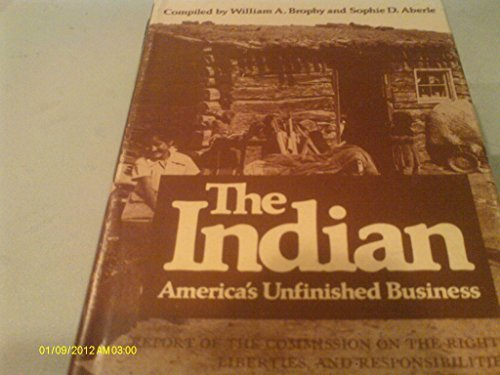 9780806107141: The Indian: America's Unfinished Business