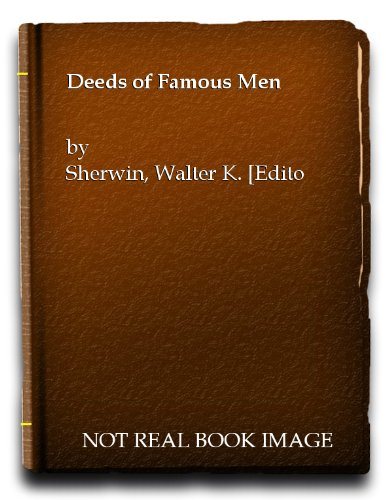 Deeds of Famous Men (De Viris Illustribus): A Bilingual Edition. Translated and Edited By Walter K....